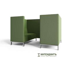 Мебельстиль Диван для переговоров четырехместный РУССО-2.3Т