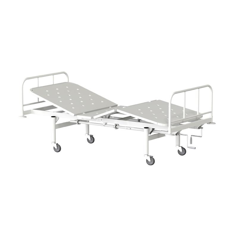 Кровать функциональная трехсекционная КФ3-01-МСК на колесах МСК-1103 фото