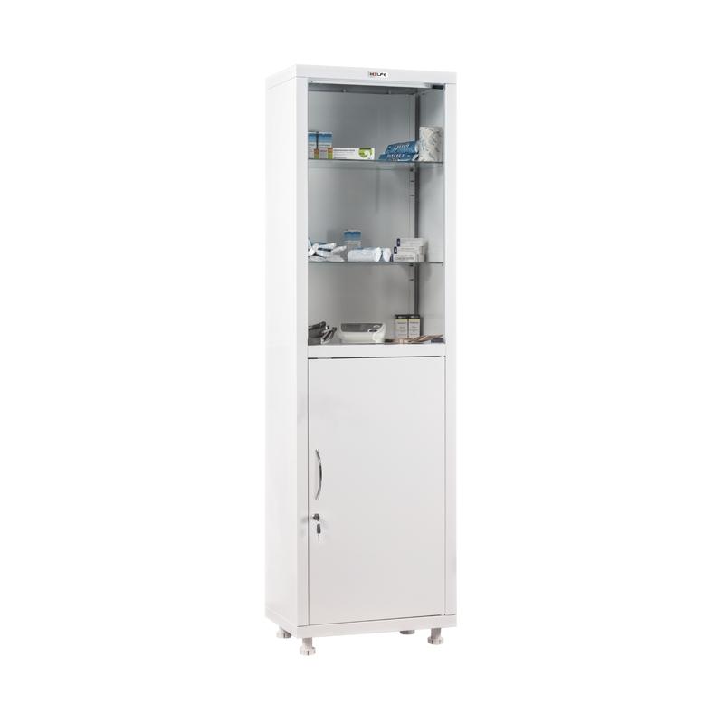 Шкаф металлический медицинский МД1 1650/SG фото
