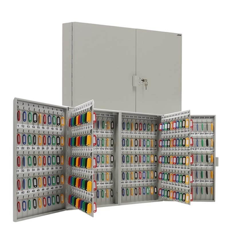 Шкаф для ключей металлический KEY-400 фото
