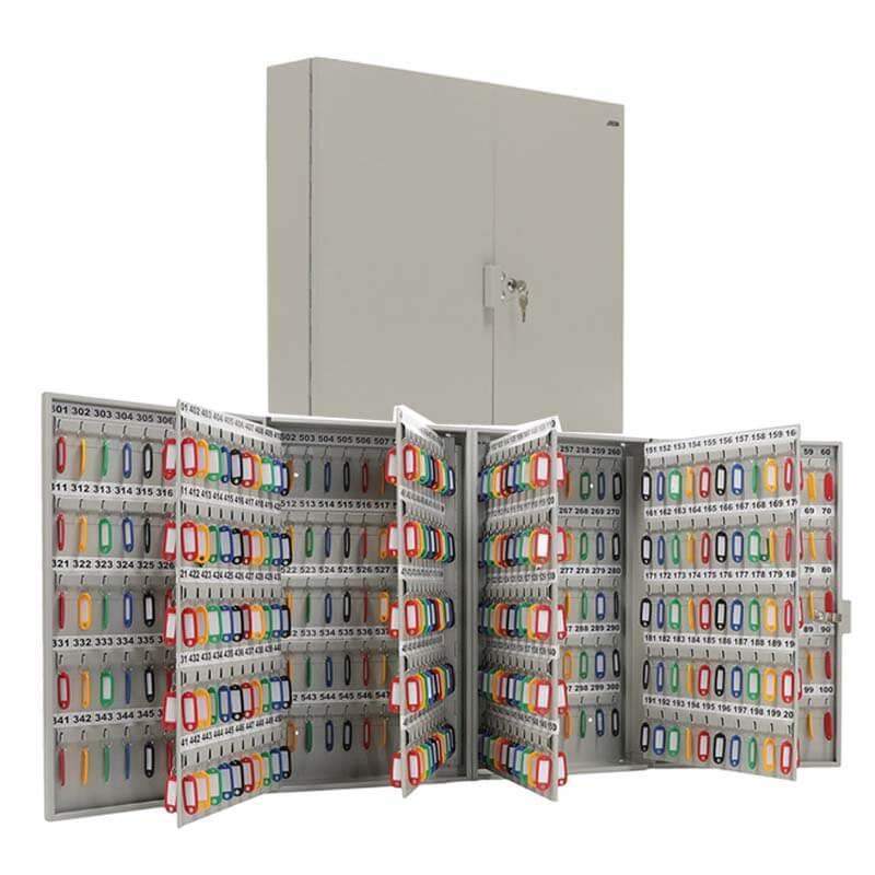 Шкаф для ключей металлический KEY-600 фото