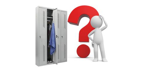 Как выбрать металлический шкаф для одежды?