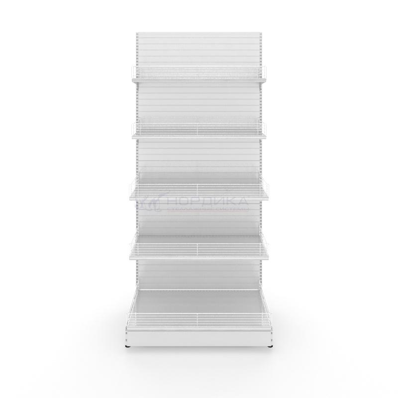 Стеллаж торговый пристенный 5 уровней хранения фото