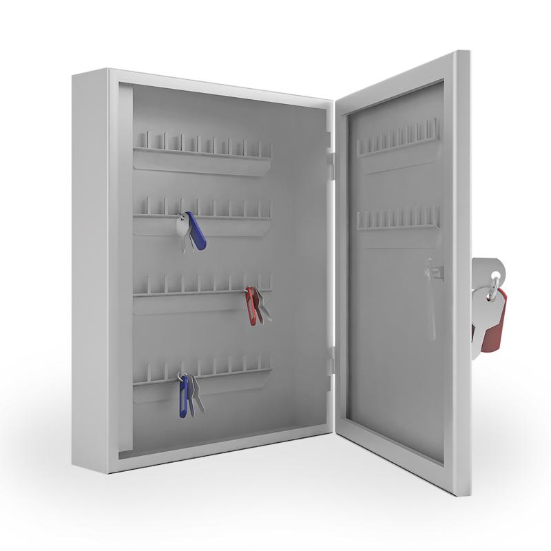 Шкаф для ключей металлический K-60 фото