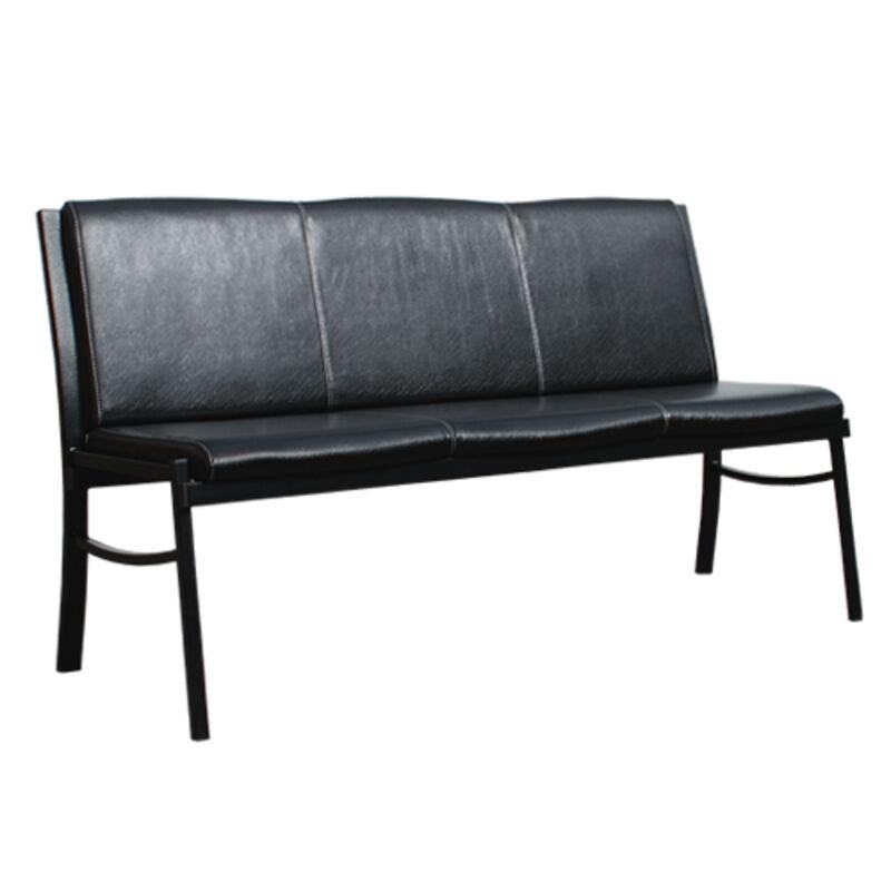 Офисный диван трехместный СИМПЛ-3