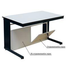 Экран защитный для лабораторного стола открывающийся Э-002-ЭЗО