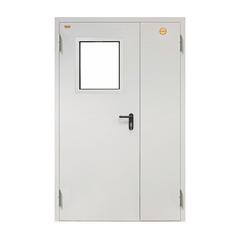 Противопожарная дверь ДПC-2 со стеклом