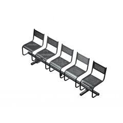 Секция из 5-ти стульев СП2.105