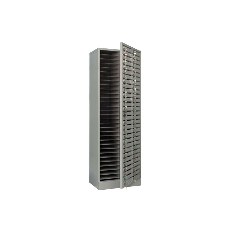 Абонентский шкаф AMB 180/60D на 60 ячеек с замком