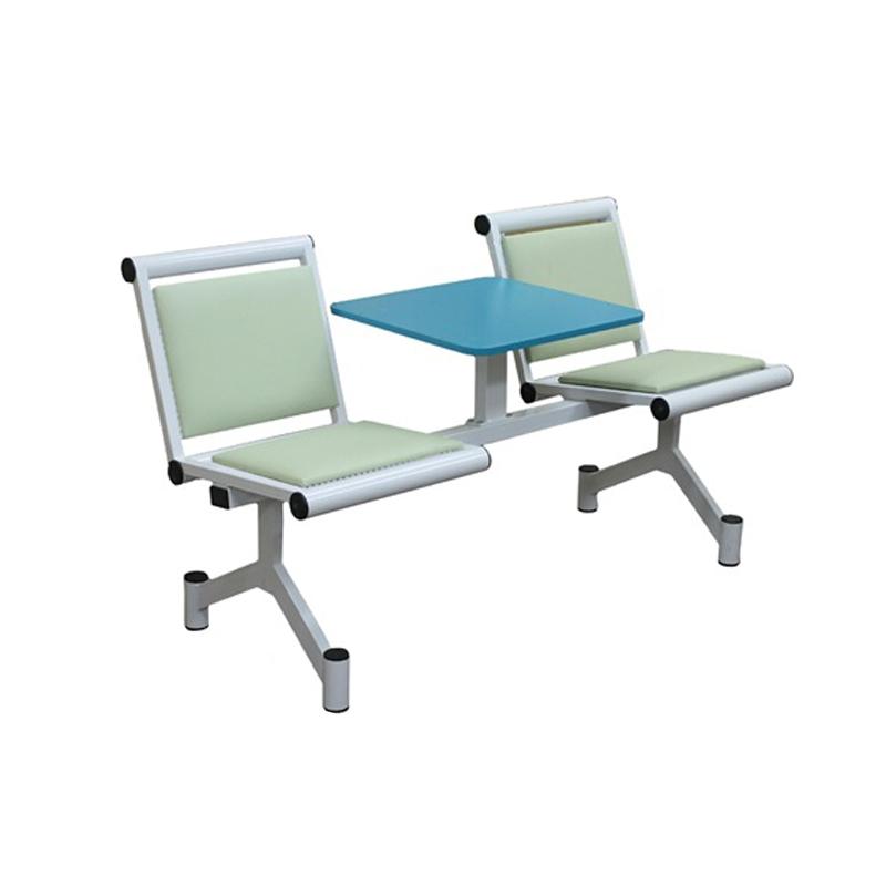 Секция стульев со столиком мягкая Э-212-СМ фото