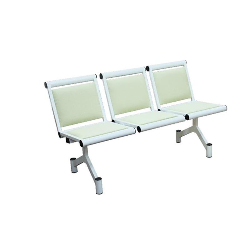 Секция стульев трёхместная мягкая