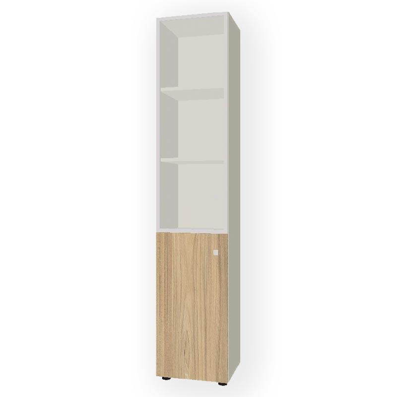 Шкаф комбинированный узкий  R-45+R-7.1+R-04.1 фото
