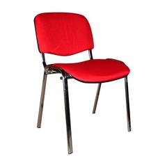 Стул для посетителя ISO CHROME RED