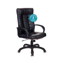 Кресло для руководителя Бюрократ KB-10-BLACK