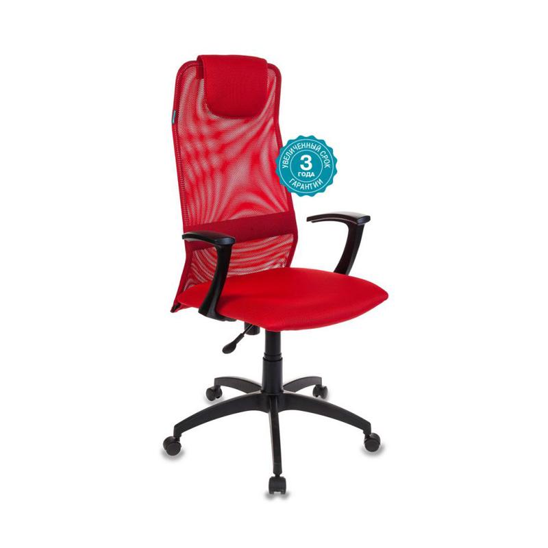 Кресло руководителя Бюрократ KB-8-R-TW-97N ткань сетка крестовина пластик фото