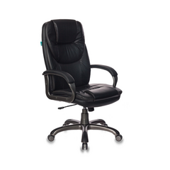 Кресло для руководителя Бюрократ T-9905DG-BLACK