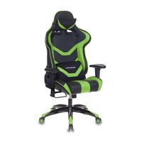 Игровое кресло Бюрократ CH-772N черный/зеленый