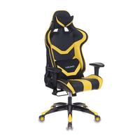Игровое кресло Бюрократ CH-772N черный/желтый