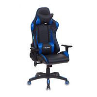 Игровое кресло Бюрократ CH-778 черный/синий