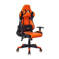 Игровое кресло Бюрократ CH-778N черный/оранжевый