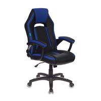 Игровое кресло Бюрократ CH-829 черный/синий