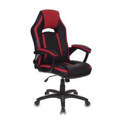 Игровое кресло Бюрократ CH-829 черный/красный