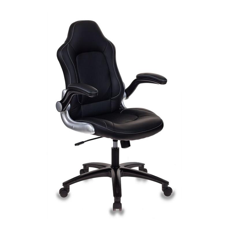 Кресло игровое Бюрократ VIKING-1 черный фото
