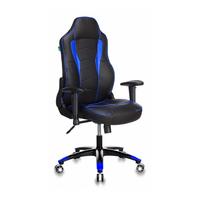 Игровое кресло Бюрократ VIKING-3 черный/синий