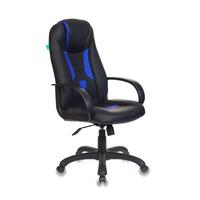 Игровое кресло Бюрократ VIKING-8 черный/синий