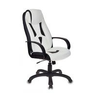 Игровое кресло Бюрократ VIKING-8 черный/белый