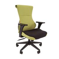 Игровое кресло  CHAIRMAN GAME 10 черный/зеленый