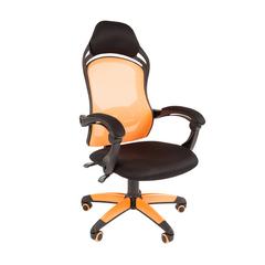 Игровое кресло GAME 12 черный/оранжевый