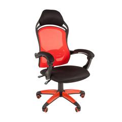 Игровое кресло GAME 12 черный/красный