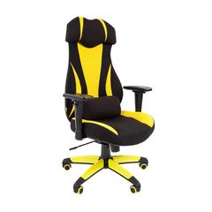 Игровое кресло GAME 14 черный/желтый
