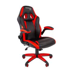 Игровое кресло GAME 15 черный/красный