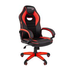 Игровое кресло GAME 16 черный/красный