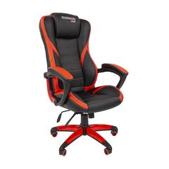 Игровое кресло GAME 22 черный/красный