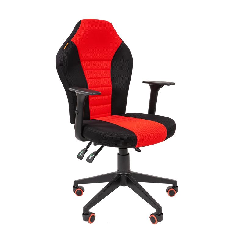 Кресло игровое CHAIRMAN GAME 8 черный/красный фото