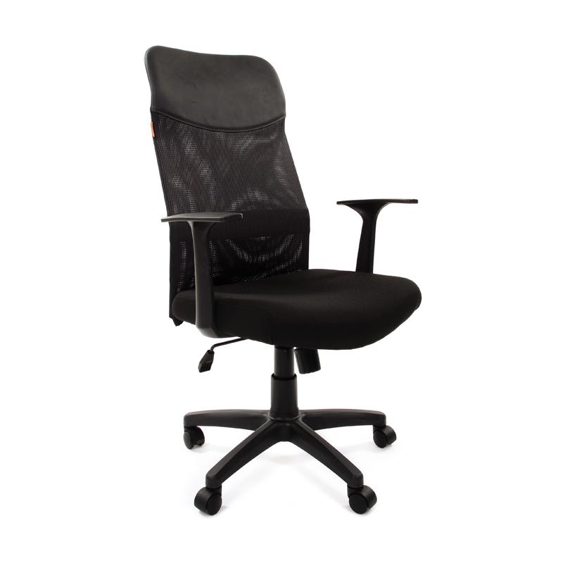 Кресло руководителя CHAIRMAN 610 LT ткань сетка крестовина пластик фото