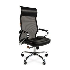 Кресло для руководителя  CHAIRMAN 700 СЕТКА BLACK