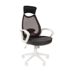 Кресло для руководителя 840 WHITE-BLACK