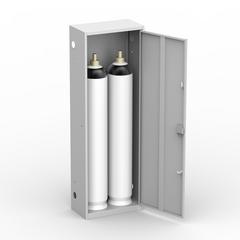Шкаф для газовых баллонов ШГР 40-2-4 (2х40 л)