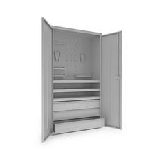 Шкаф инструментальный ИШ-1850 (комплект)