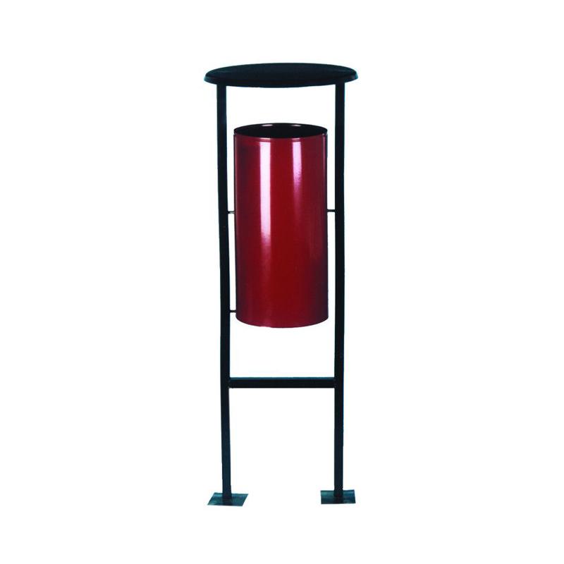 Металлическая напольная урна УК-1