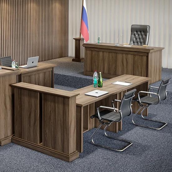 Мебель для залов суда